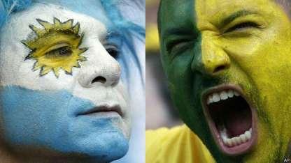 Más allá de la rivalidad, el deseo de que triunfe la verde amarela es real.
