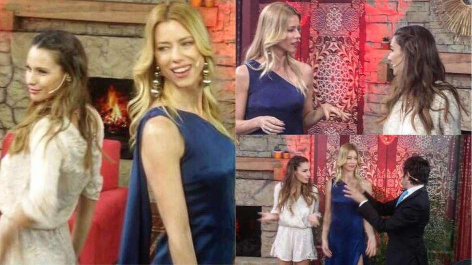 Nicole y Pampita hablaron de todo — Duelo de modelos