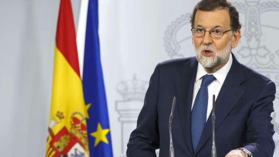 Rajoy sopesa la suspensión de la autonomía de Cataluña