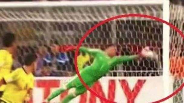 Lamento trasandino: el gol de Perú fue válido porque el arquero de Colombia tocó el balón