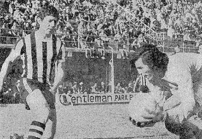 Efemérides 12 de octubre  de 1981: Eugenio Bustos finalista con Tres Esquinas