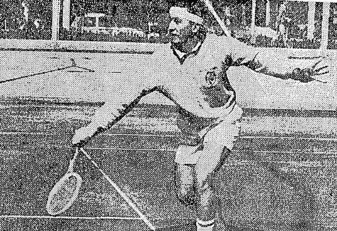 """Efemérides 12 de octubre  de 1969: Campoy, la """"raqueta"""" del Aniversario"""