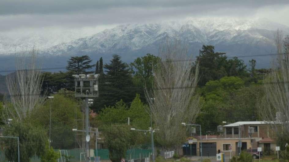 Histórica nevada en octubre: las mejores fotos de Mendoza de blanco