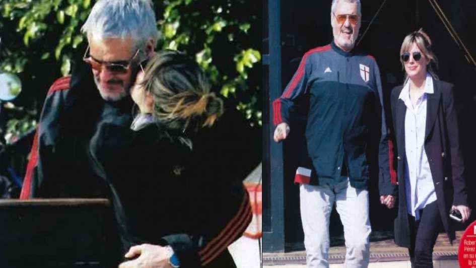 Pettinato se mostró muy romántico con su novia 26 años menor