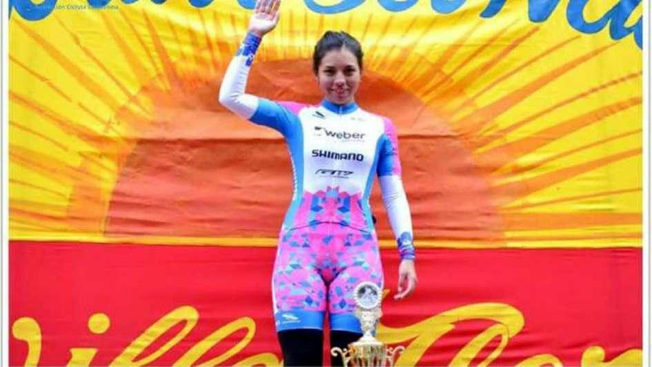 Maribel Aguirre: la nueva joya del  ciclismo femenino argentino