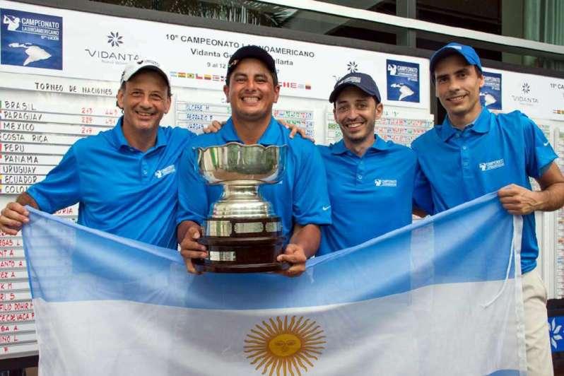 Argentina campeón latinoamericano de golf