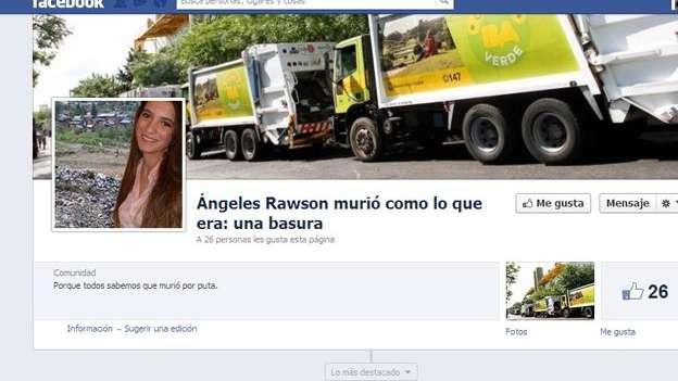 Resultado de imagen para imagenes angeles rawson facebook