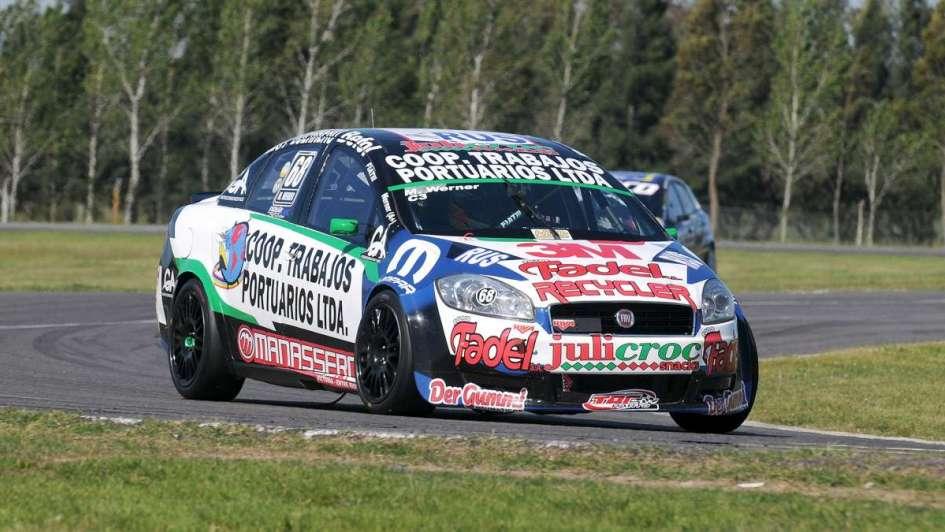 Werner se quedó con la pole del Turismo Nacional en La Plata