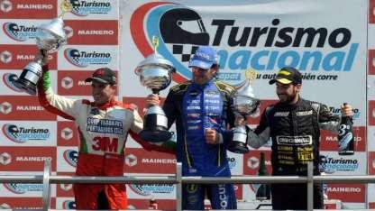El mendocino volvió al podio en La Plata ocupando el tercer lugar, tras realizar una gran carrera con su Focus.