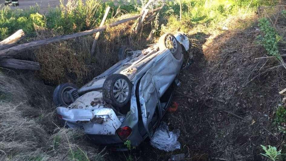 Una chica murió en un accidente en General Alvear