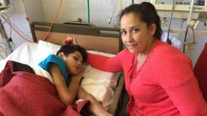 Fernando junto a su madre Gentileza / El Litoral