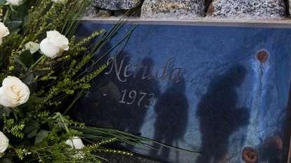 La tumba del poeta en Isla Negra, Chile