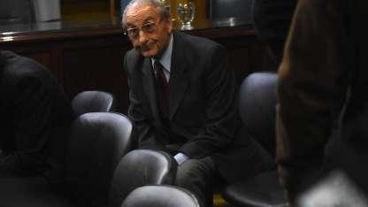 Guillermo Petra Recabarren durante el juicio.