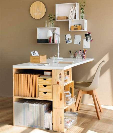 Muebles increíbles y originales hechos con cajones de madera