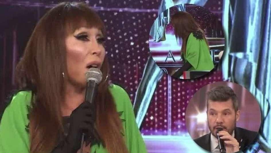Moria Casán tuvo un orgasmo en vivo en televisión