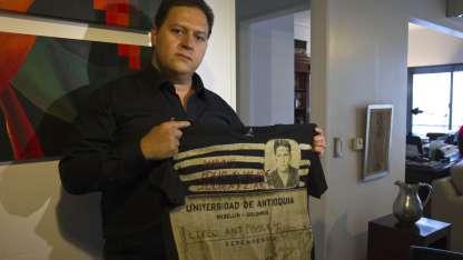 Sebastián Marroquín, hijo del fallecido capo de la droga colombiano Pablo Escobar