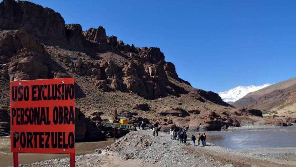 Mendoza cumplió con las gestiones para construir Portezuelo del Viento