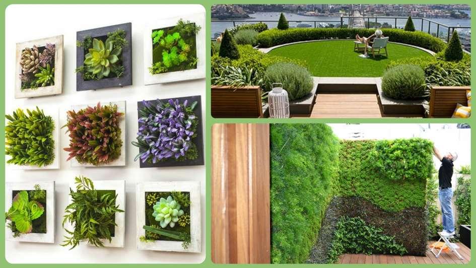 Ltimas vacantes para el workshop de jardines verticales y for Materiales para jardines verticales