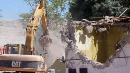 La ex bodega Toso, en Guaymallén, fue demolida esta semana por la Municipalidad.