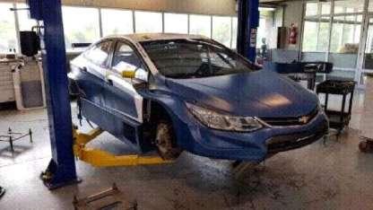 Jorgito conducirá esta Chevrolet, que ya manejó Nicolás Moscardini.