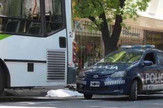 El anciano murió en calle 9 de Julio de Ciudad.