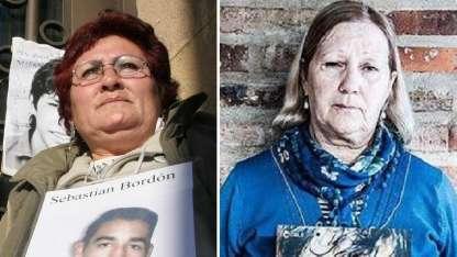 Miriam Medina  y  Stella Maris Peloso.