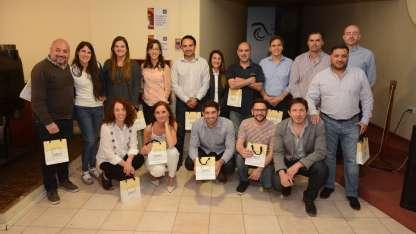 El grupo de colaboradores de las distintas áreas de la empresa que fueron destacados por su desempeño.