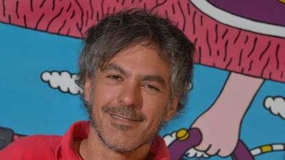 El ilustrador Federico Calandria