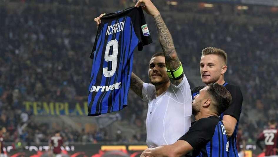 Inter y Nápoli terminaron a mano