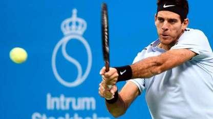 Del Potro tiene ganados 19 torneos ATP. Está a seis de José Luis Clerc.