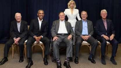 Lady Gaga y cinco presidentes de EE. UU.