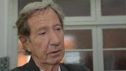 El político acompañó a votar al candidato aliado de Cambiemos, Claudio Poggi.