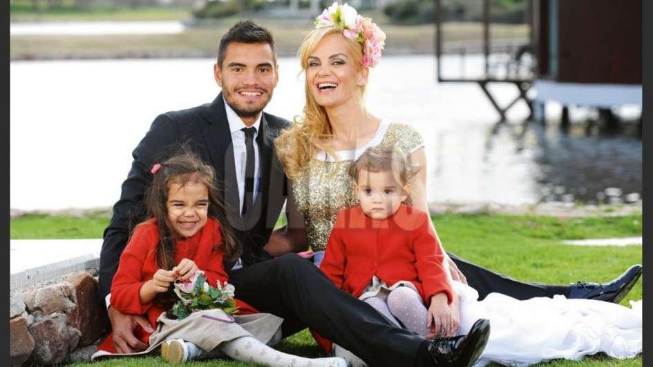 Eliana Guercio y el arquero de la Selección argentina agrandan la familia