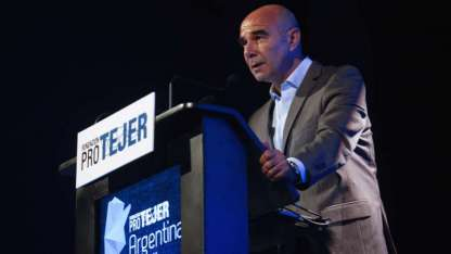 El ahora ex titular de la Aduana, Juan José Gómez Centurión / DyN