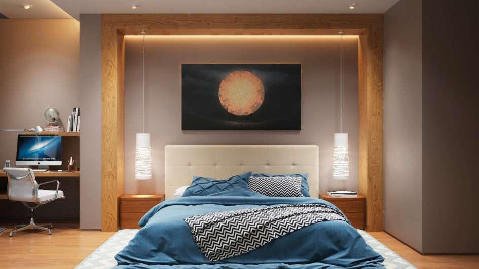 Iluminaci n para dormitorios a media luz - Luz para dormitorio ...