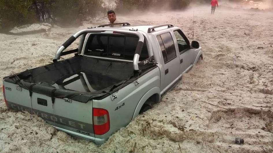 Un temporal de lluvia y granizo castigó a San Luis, Córdoba y Catamarca