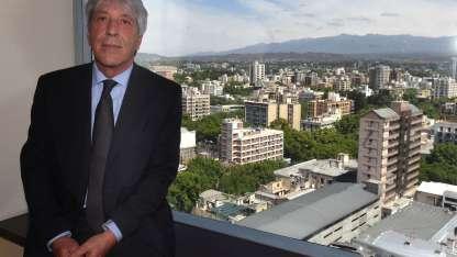 Juan Carlos Rivera, gerente regional Banco Credicoop / Andrés Larrovere - Los Andes