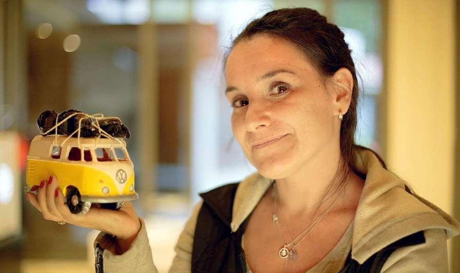 Angie Villé, el arte y la tecnología como nuevos paisajes