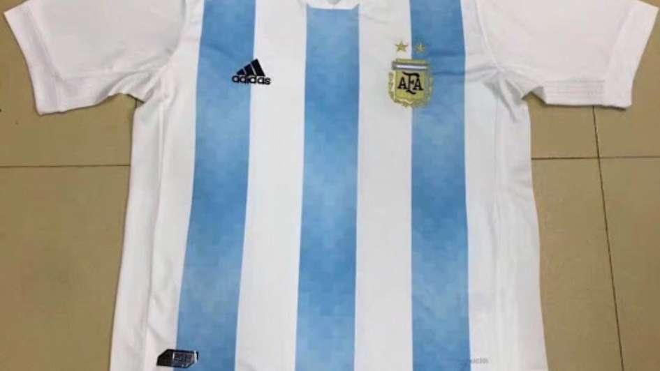 FILTRADA: Camiseta titular adidas de Argentina Mundial 2018