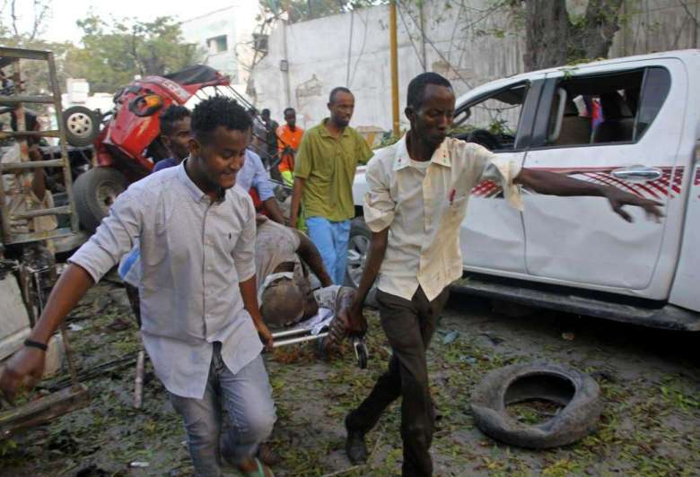 Cifra de muertos por atentado a hotel en Somalia ascendió a 25
