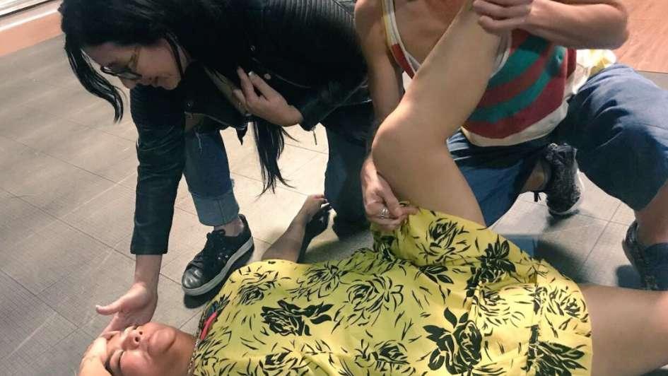 Gladys La Bomba Tucumana se desmayó en pleno ensayo