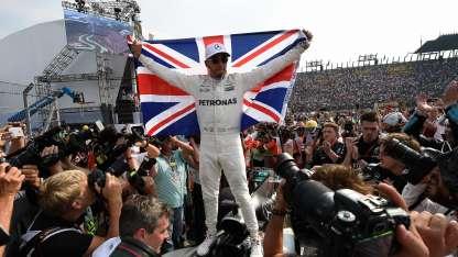 Hamilton terminó por delante de Sebastian Vettel en el campeonato.