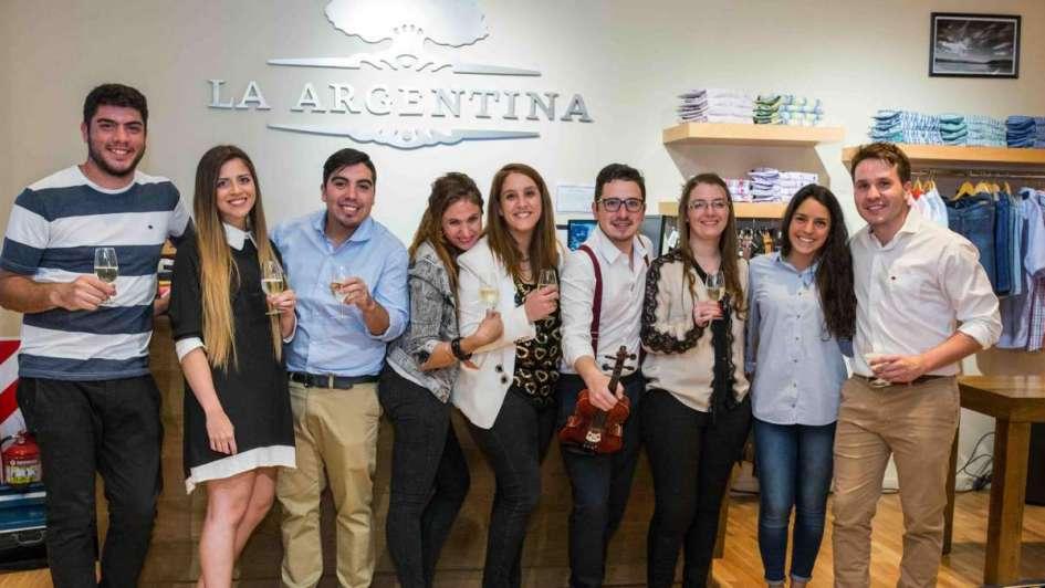 La Argentina presentó su nueva colección en el Shopping