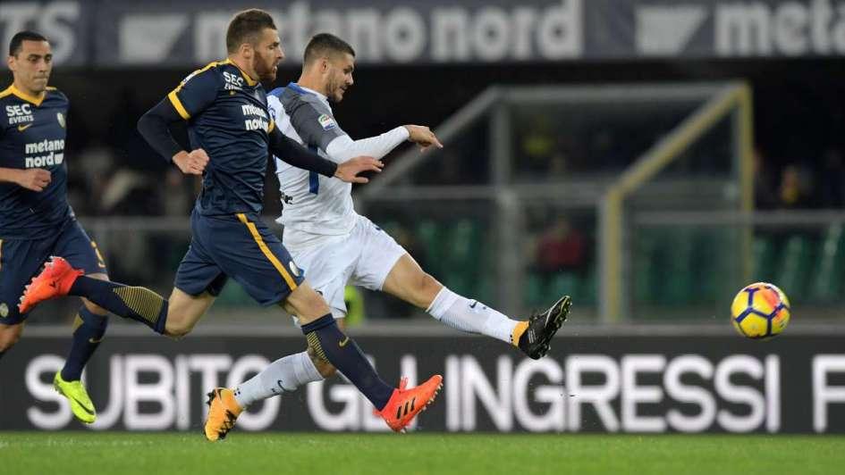 Con Icardi, Inter ganó y sigue como escolta del líder Nápoli