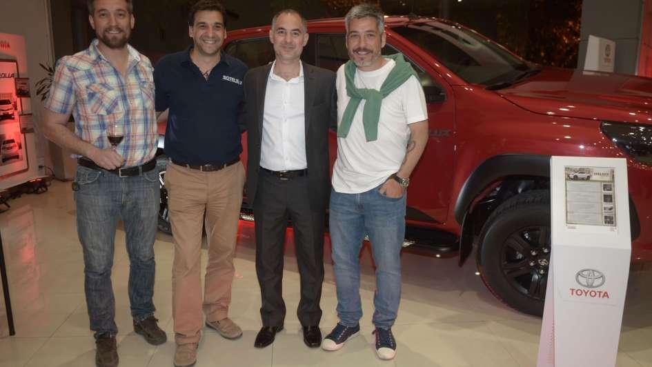 Toyota Yacopini presentó la nueva Hilux
