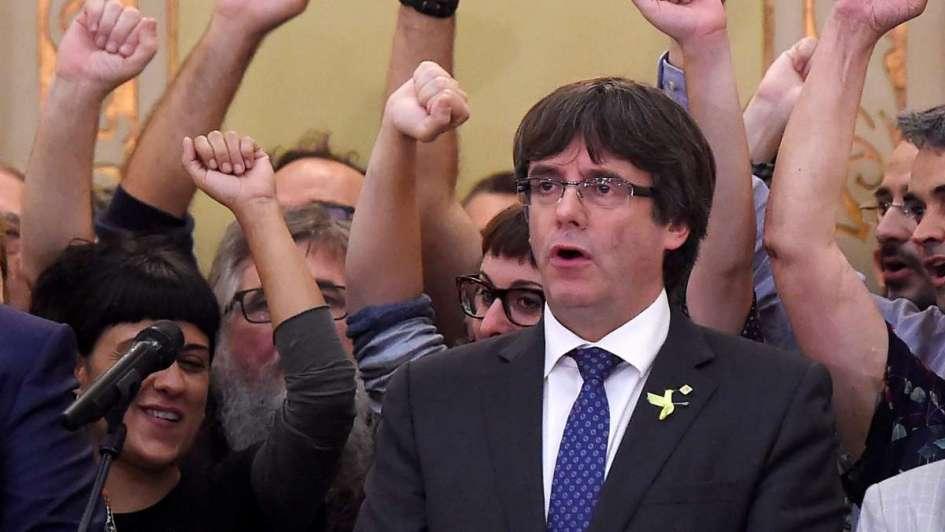 Puigdemont dice estar dispuesto a ser candidato,