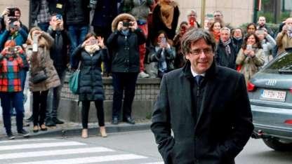 La Justicia española quiere preso a Puigdemont.
