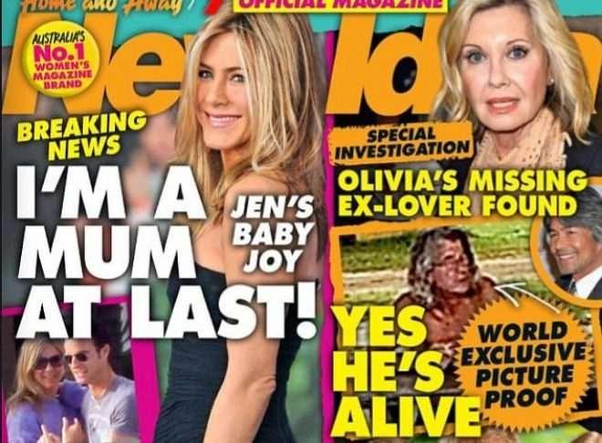 Olivia Newton John muy impresionada con imagen de su novio desaparecido