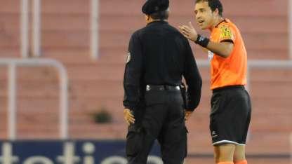 Ceballos será el árbitro para el partido de Independiente.