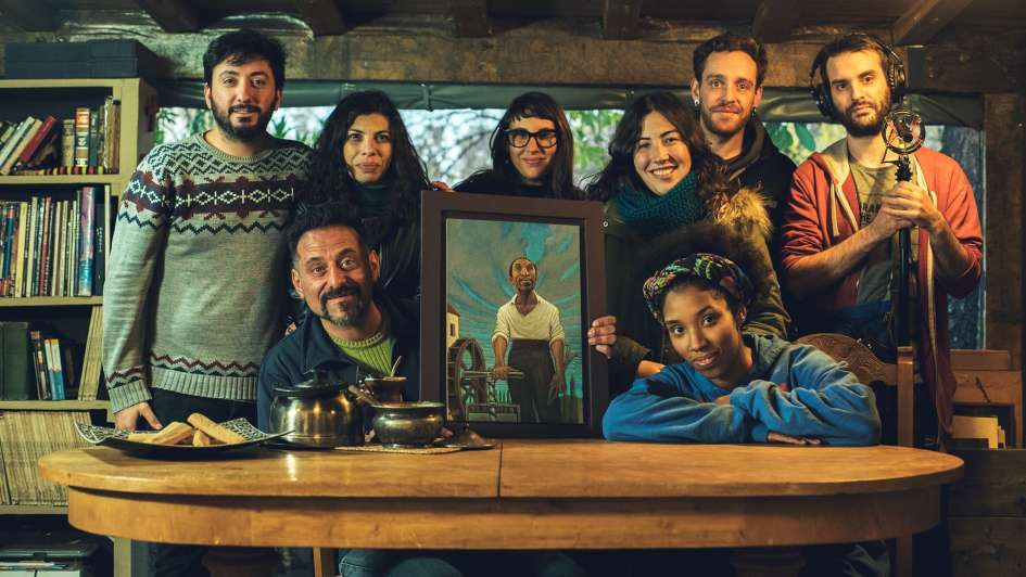 San Martín revive en la pantalla local